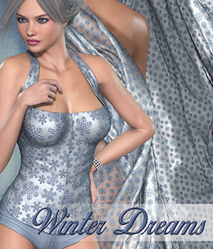 Poser - Winter Dreams 2D Graphics Merchant Resources Atenais