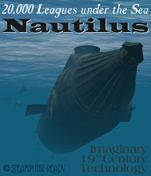 20,000 Leagues Nautilus 3D Models Michael_C