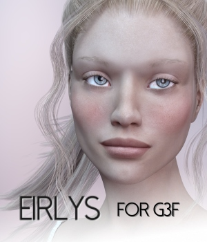 Eirlys for Genesis 3 Female 3D Figure Assets RedzStudio