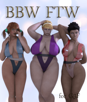 BBW FTW 3D Figure Essentials AliveSheCried