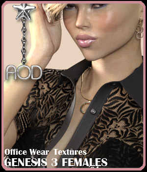Office Wear Textures 3D Figure Assets ArtOfDreams