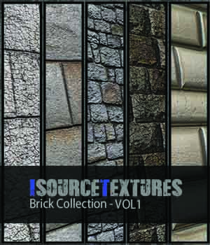 Brick Collection - Vol1 - PBR Textures - Extended License