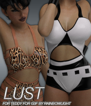 LUST - Teddy for Genesis 3 Female(s)