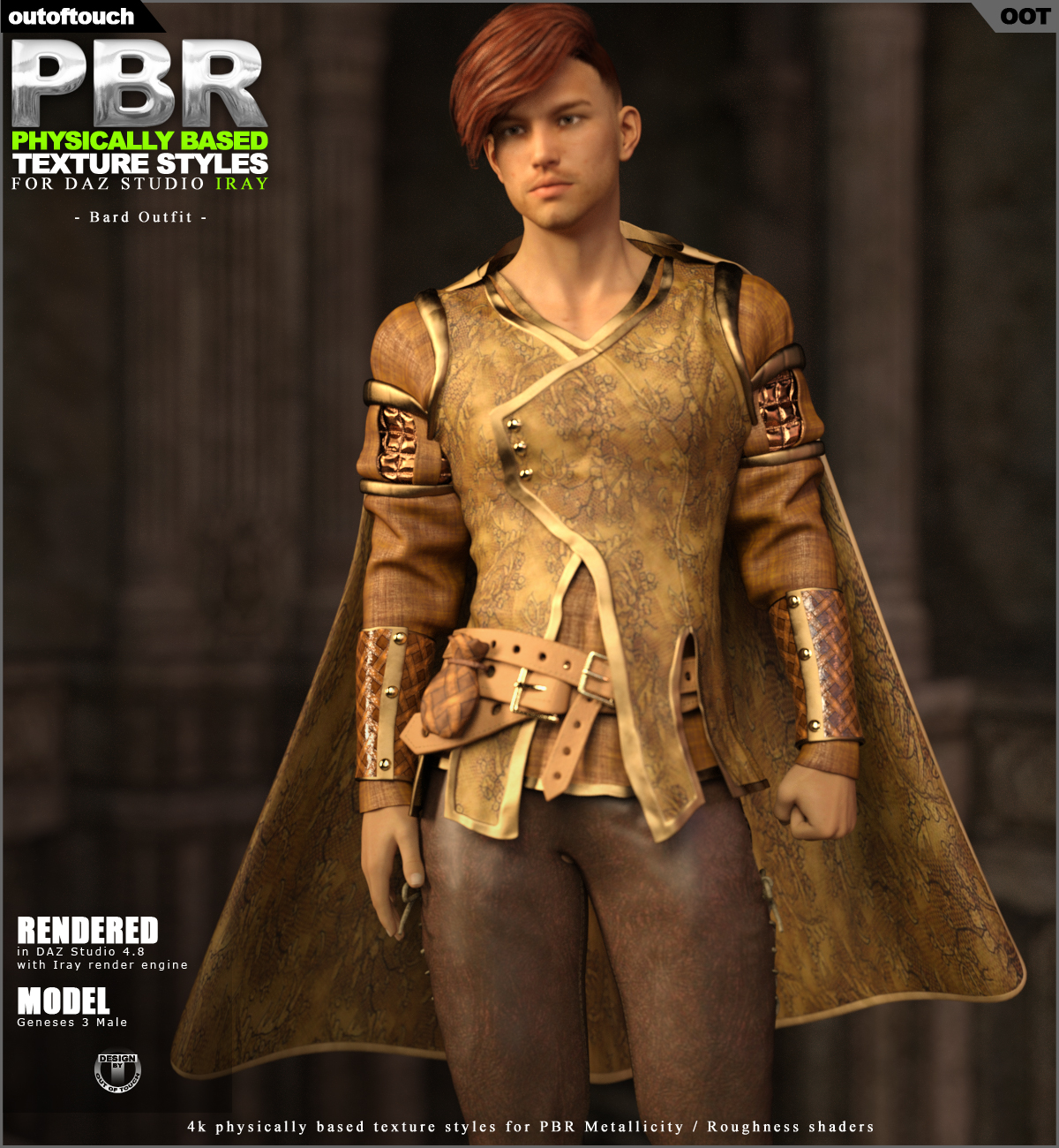 OOT PBR Texture Styles for Bard Outfit
