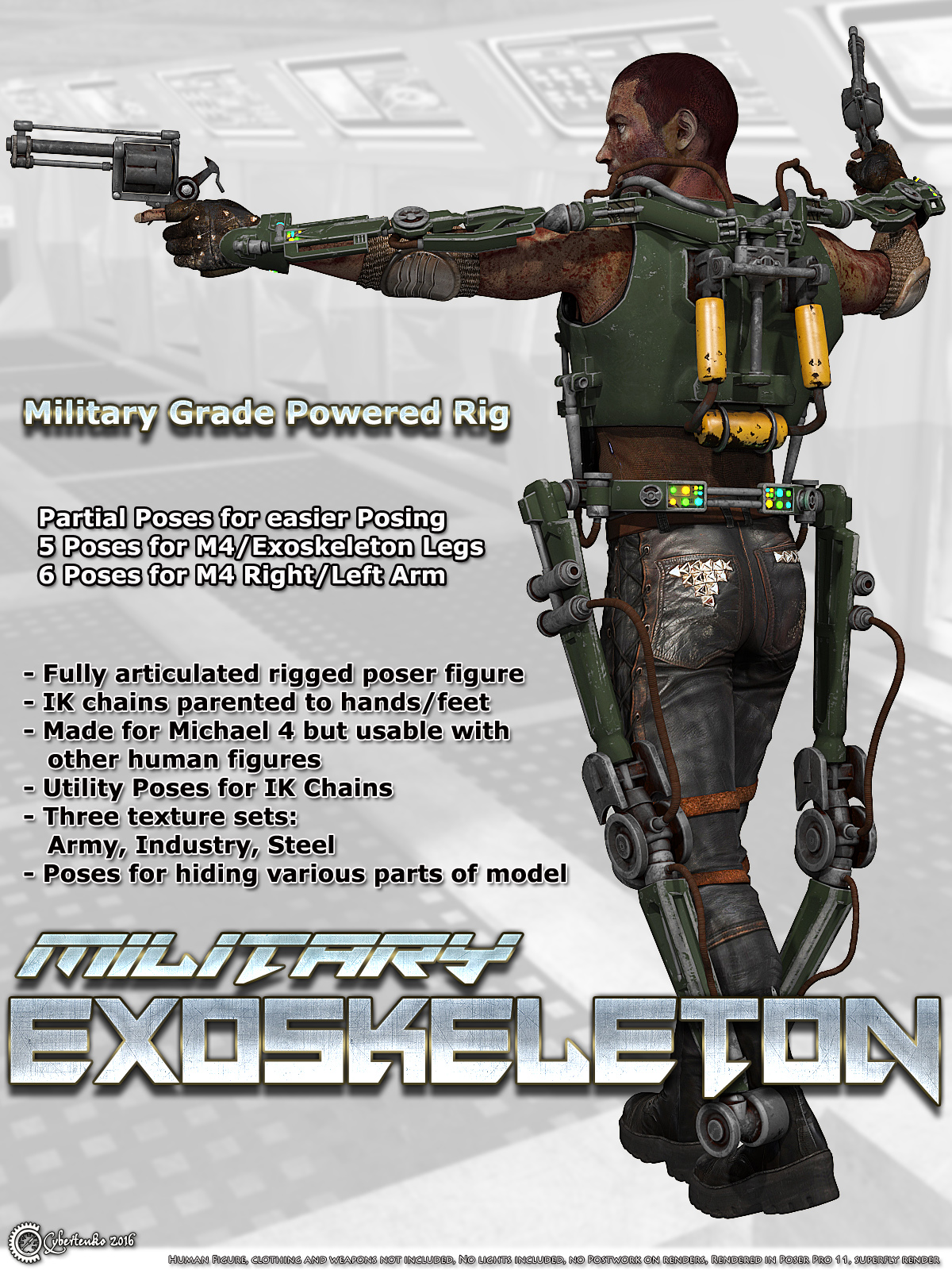 Military Exoskeleton - Extended License