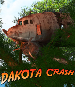 Dakota Crash - Extended License 3D Models Gaming Extended Licenses Cybertenko