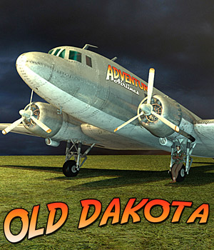 Old Dakota - Extended License 3D Models Gaming Extended Licenses Cybertenko
