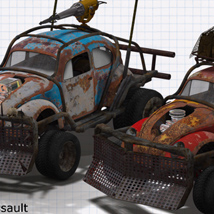 Wasteland Warriors - Angry Bug - STANDALONE - Extended License image 1