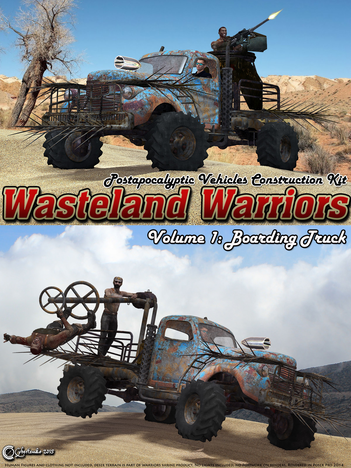 Wasteland Warriors - Boarding Truck - Extended License