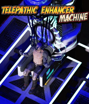 Telepathic Enhancer Machine - Extended License 3D Models Gaming Extended Licenses Cybertenko