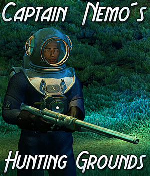 Captain Nemos Hunting Grounds - Extended License 3D Models Gaming Extended Licenses Cybertenko
