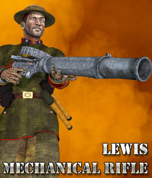 Lewis Mechanical Rifle - Extended License