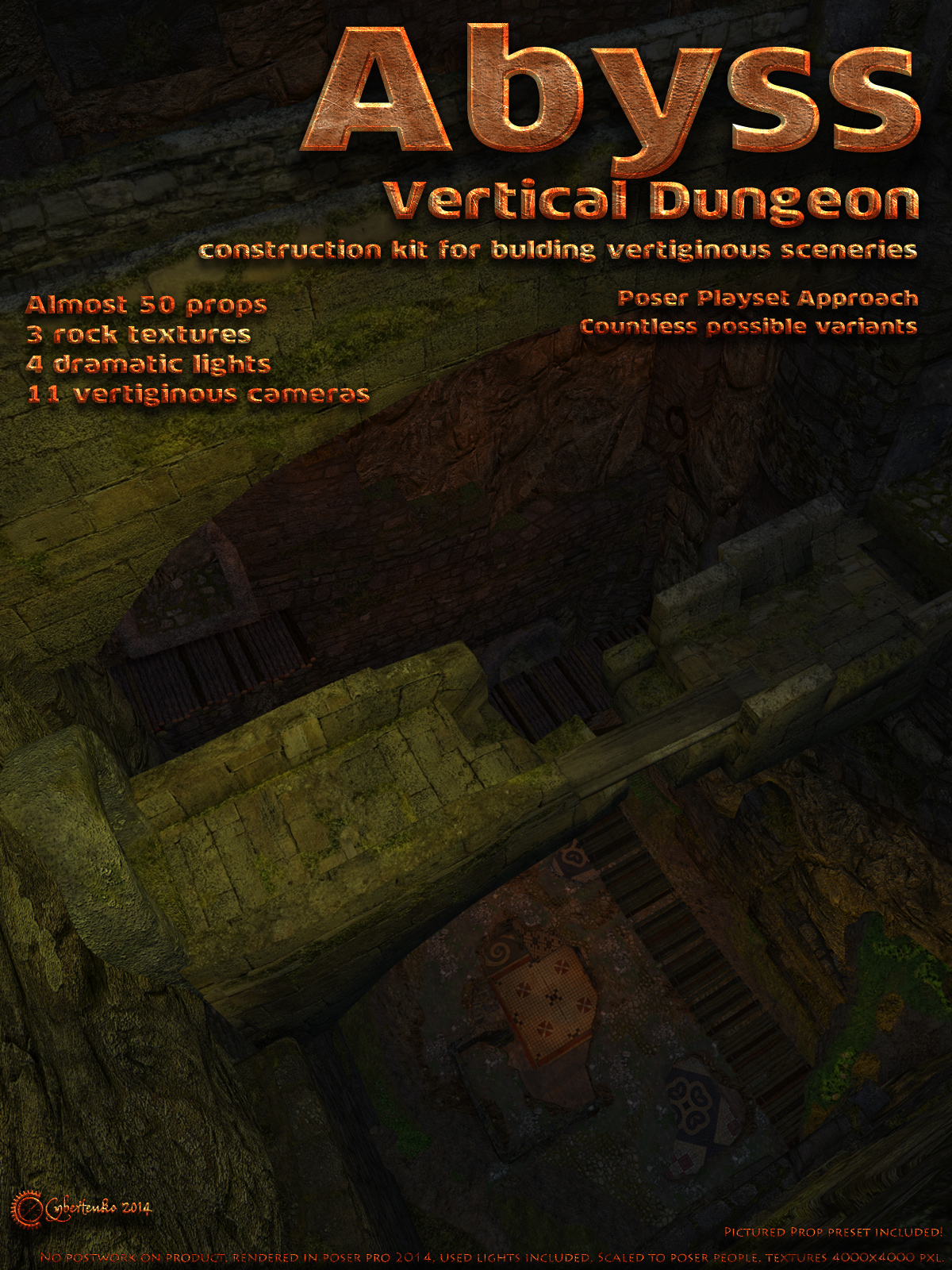 Abyss - Vertical Dungeon - Extended License