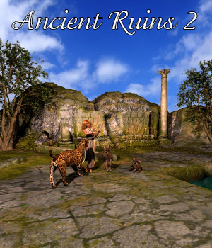 AJ Ancient Ruins 2 3D Models -AppleJack-