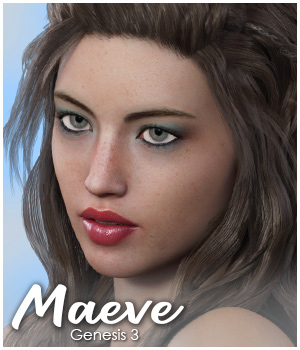 Maeve for Genesis 3 Female 3D Figure Assets Jadyn