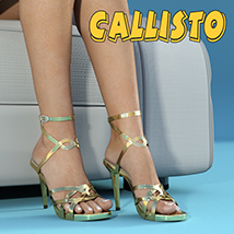 Callisto Shoes - for Genesis 3 image 1