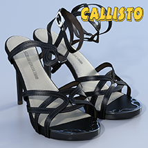 Callisto Shoes - for Genesis 3 image 3