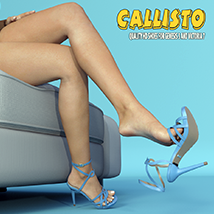 Callisto Shoes - for Genesis 3 image 6