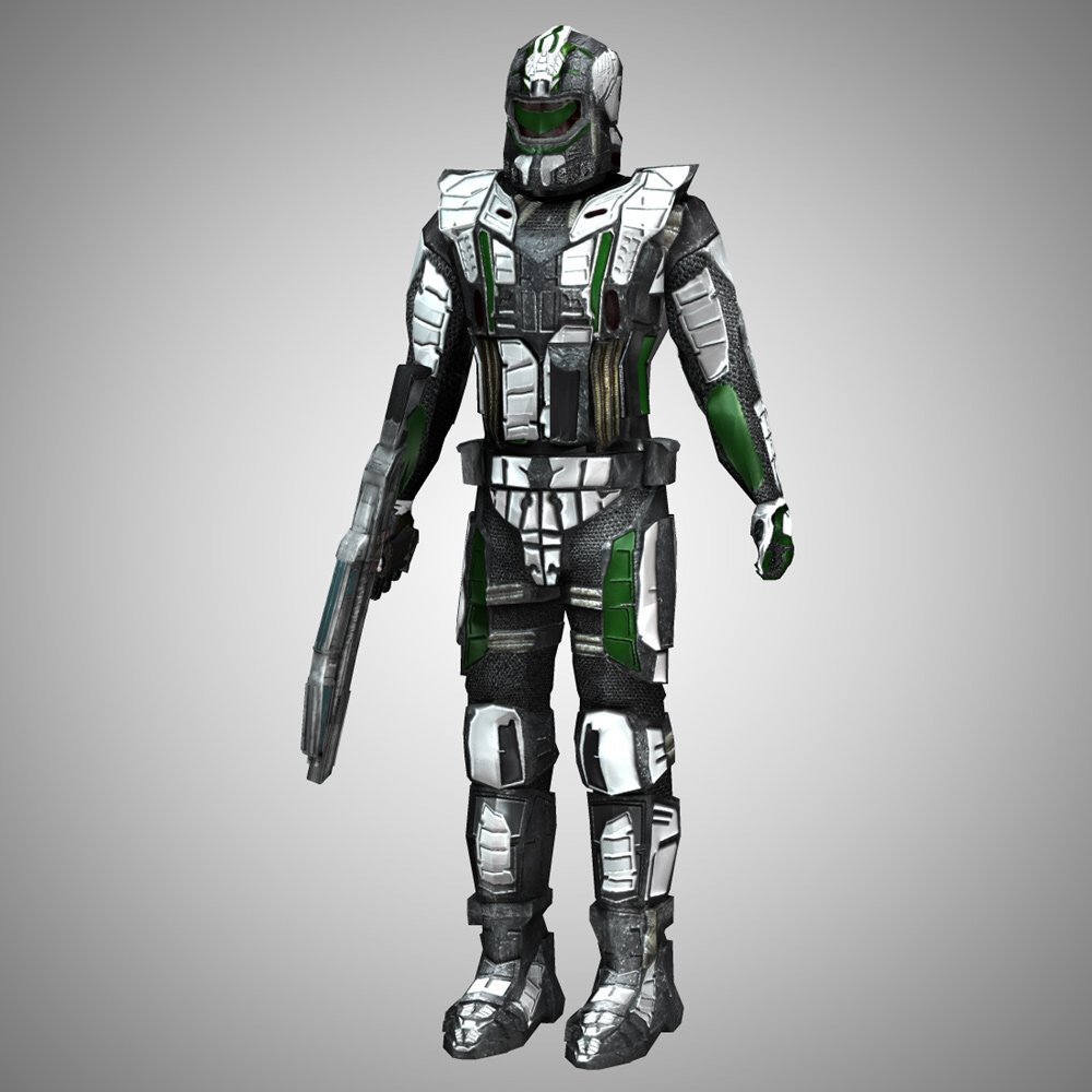 Recon Trooper (for Poser) by VanishingPoint