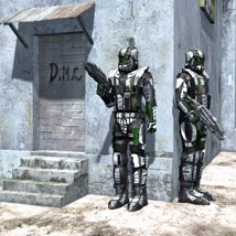 Recon Trooper (for Poser) image 4