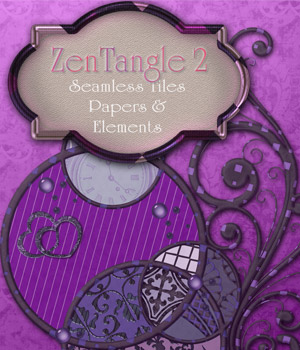 ZenTangle 2 2D Graphics antje