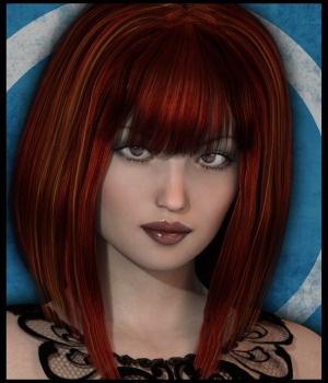 Bottled Noxy Hair for G3 Female(s) 3D Figure Assets 3-DArena