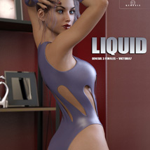 Liquid Outfit for Genesis 3 Females image 4