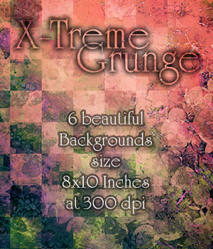 X-Treme Grunge 2D Graphics antje