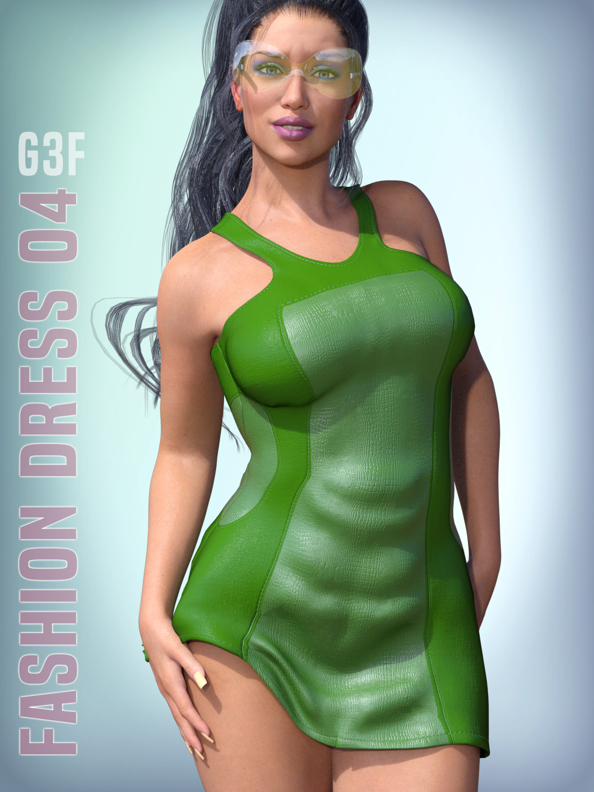 Fashion Dress 04 for G3F