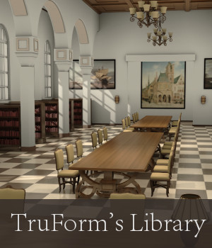 TruForm's Library 3D Models TruForm