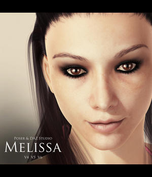 Melissa for V4, V5 & V6 3D Figure Essentials adamthwaites