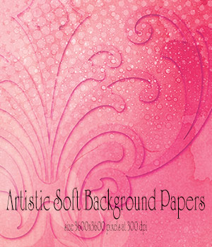 Artistic Soft Background Papers by antje