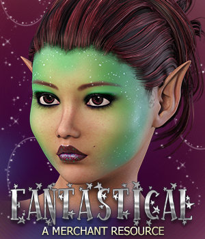 Fantastical MR for Genesis 3 Female(s) 3D Figure Assets Merchant Resources 3DSublimeProductions