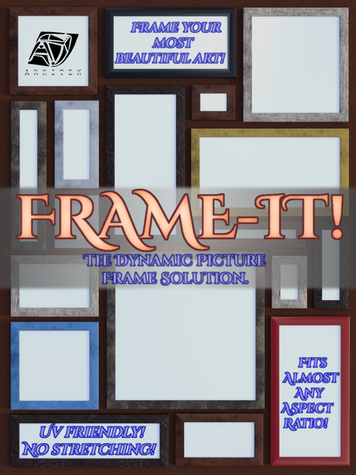 Frame-It! Dynamic Picture Frame by Arkitek