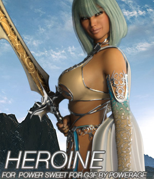 HEROINE - Power Sweet for G3 female(s)