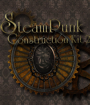 SteamPunk Construction Kit 2 2D Graphics Merchant Resources antje