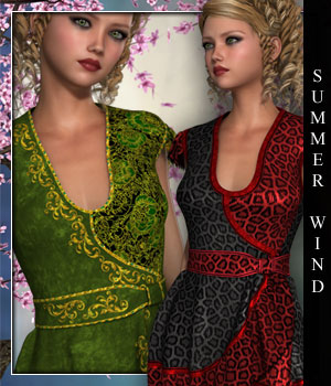 Summer Wind for Dahlia 3D Figure Essentials sandra_bonello