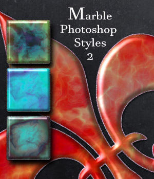 Marble Photoshop Styles 2  2D antje