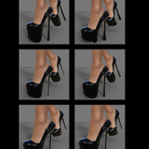 Camilla High Heels for Genesis 3 Female(s) image 8