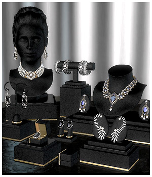 GCD Jewelry Displays 3D Figure Assets GrayCloudDesign