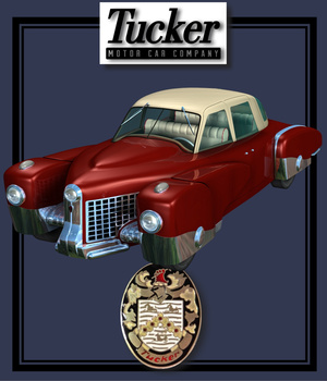 TUCKER PROJECT ( Poser and .OBJ ) 3D Models Nationale7