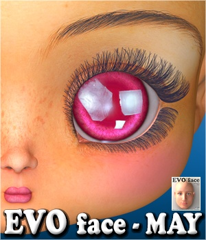 EVO face - MAY 3D Figure Assets 3Dream