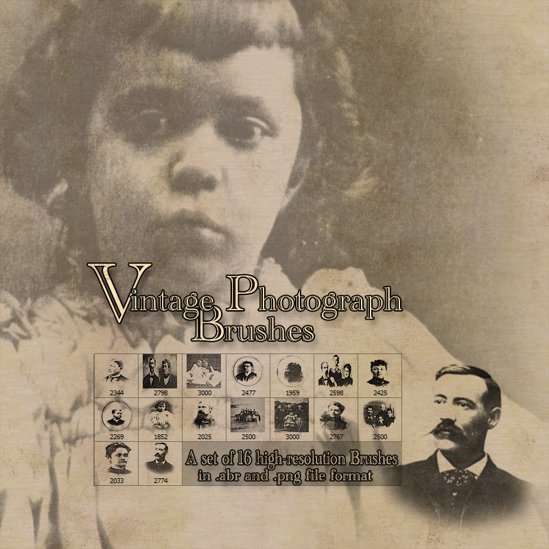 Vintage Photograph Brushes