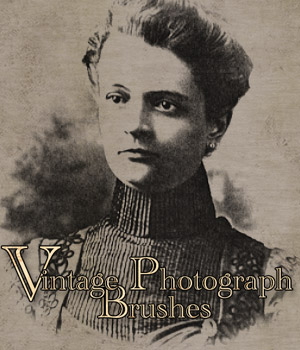 Vintage Photograph Brushes 2D Merchant Resources antje