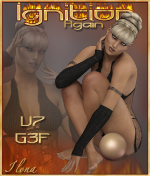 Ignition Again - G3F / V7 3D Figure Assets ilona