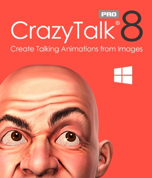 CrazyTalk 8 PRO Software Reallusion