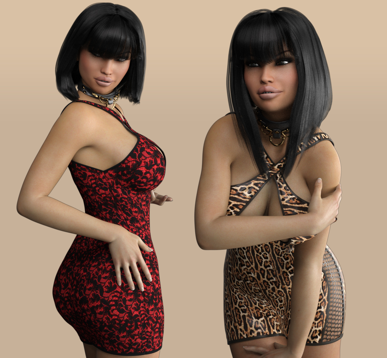 VERSUS - Sexy Little Something 1 Dress for Genesis 3 Female(s)