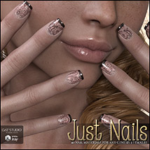 SV's Just Nails for Genesis 3 Female(s) Iray image 1