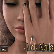 SV's Just Nails for Genesis 3 Female(s) Iray image 2