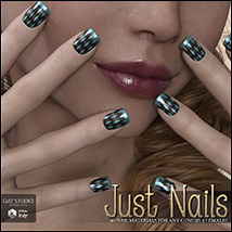 SV's Just Nails for Genesis 3 Female(s) Iray image 3